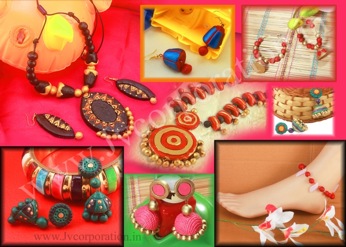 Terracotta Jewellery Designs in Indore
